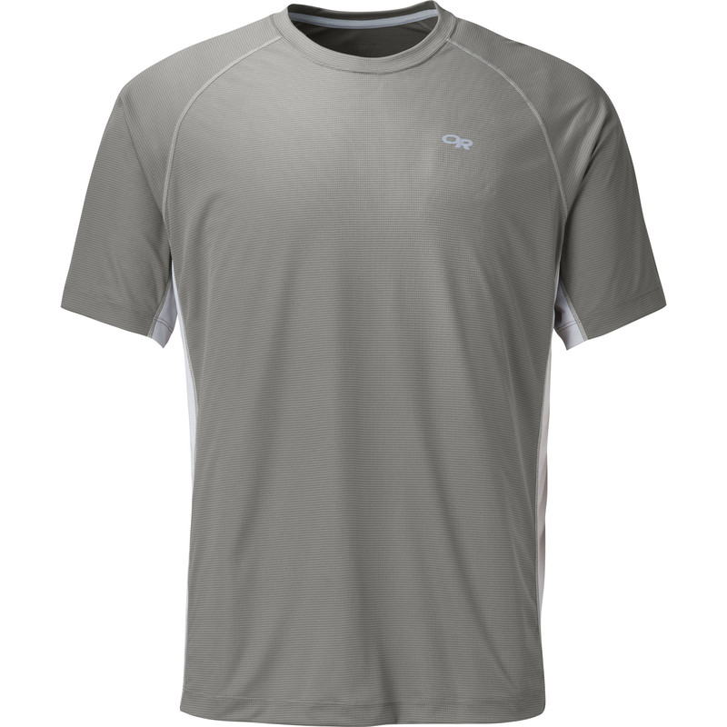 Outdoor Research Men´s Echo Duo Tee Pewter/Alloy-30