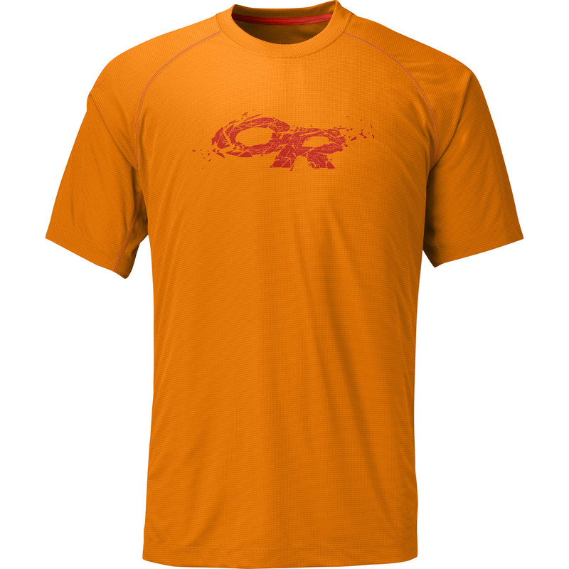 Outdoor Research Men´s Echo Graphic Tee Supernova/Diablo-30