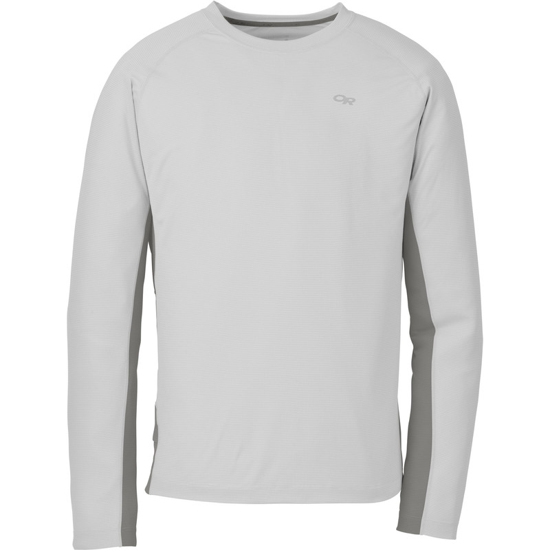 Outdoor Research Men´s Echo L/S Duo Tee Alloy/Pewter-30