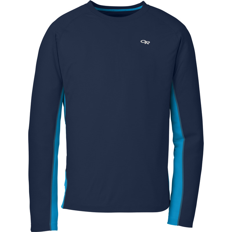 Outdoor Research Men´s Echo L/S Duo Tee Night/Hydro-30