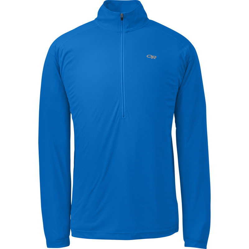 Outdoor Research Men´s Echo L/S Zip Tee Glacier/Night-30