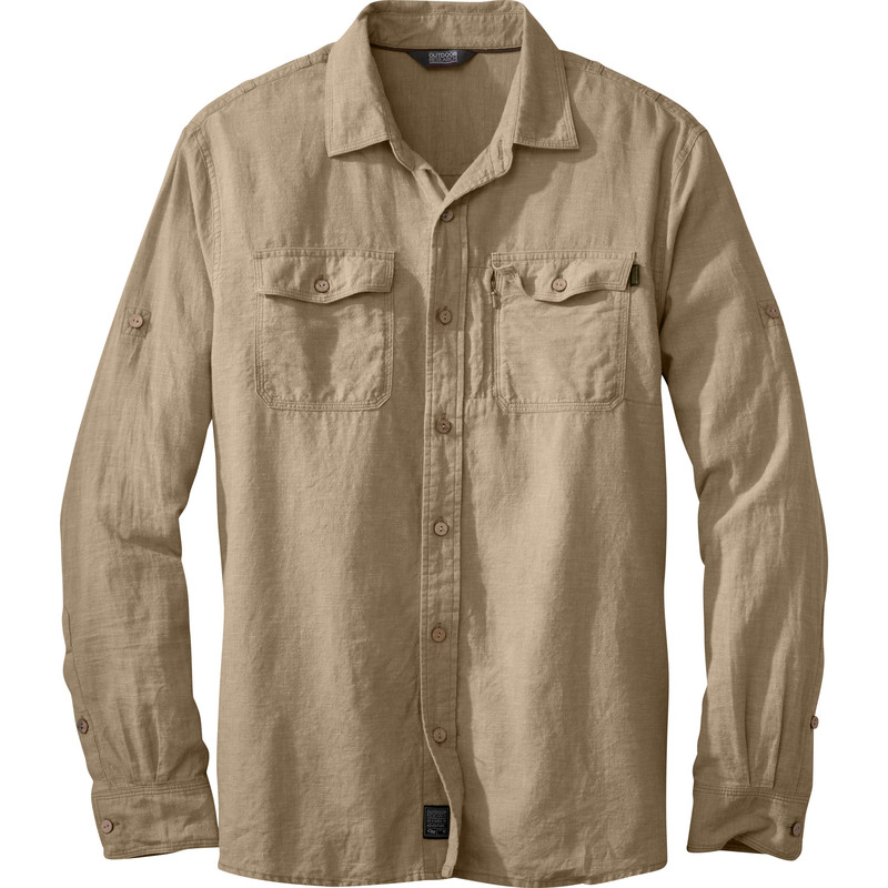 Outdoor Research Men´s Harrelson L/S Shirt Cafe-30
