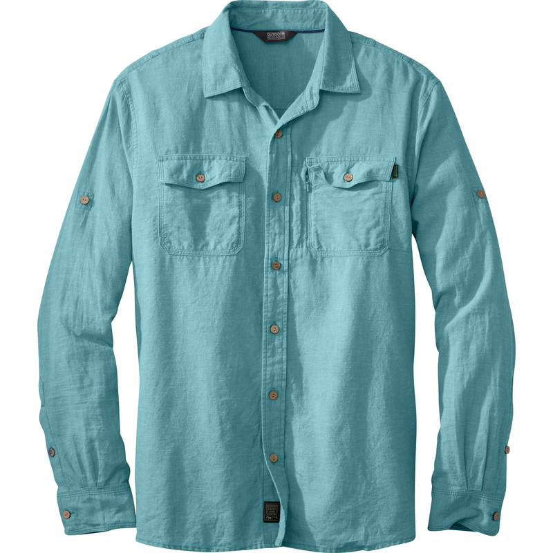 Outdoor Research Men´s Harrelson L/S Shirt Ice-30
