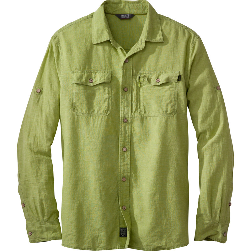 Outdoor Research - Men´s Harrelson L/S Shirt Palm - Shirts -