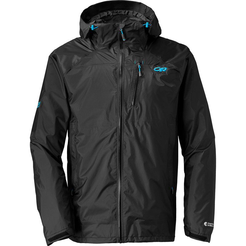 Outdoor Research Men´s Helium Hd Jacket Black/Hydro-30