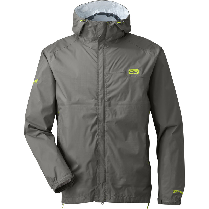 Outdoor Research Men´s Horizon Jacket Pewter/Lemongrass-30