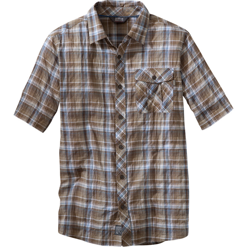 Outdoor Research - Men´s Jinx S/S Shirt Cafe - Shirts - XL