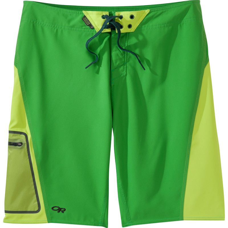 Outdoor Research Men´s Lunch Counter Boardshorts Flash/Lemongrass-30