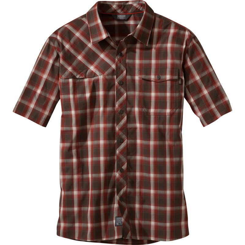 Outdoor Research - Men´s Riff S/S Shirt Earth - Shirts - XL