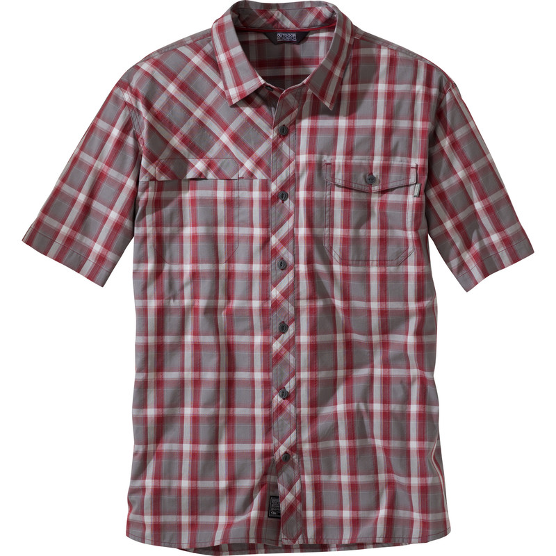 Outdoor Research Men´s Riff S/S Shirt Redwood-30