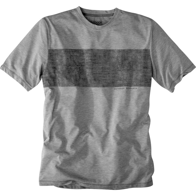 Outdoor Research - Men´s Roundhouse Tech Tee Silver Heather - T-Shirts -