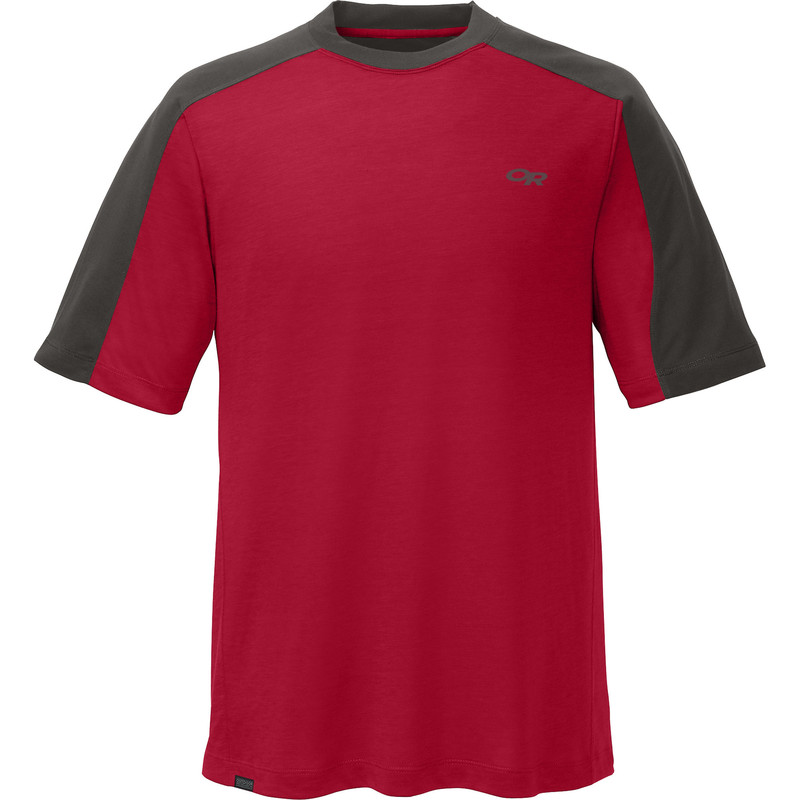 Outdoor Research Men´s Sequence Duo Tee Redwood/Charcoal-30