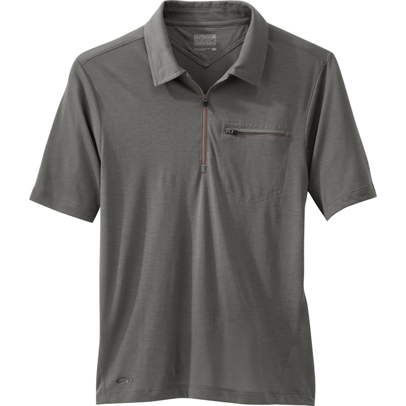 Outdoor Research Men´s Sequence S/S Polo Pewter-30