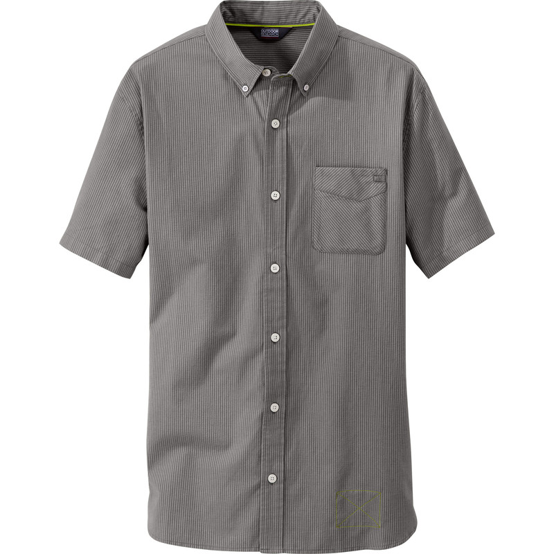 Outdoor Research Men´s Tisbury S/S Shirt Pewter-30