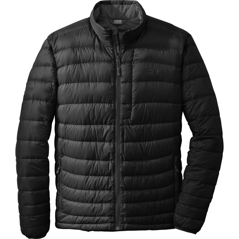 Outdoor Research - Men´s Transcendent Sweater 001-BLACK - Down Jackets - L