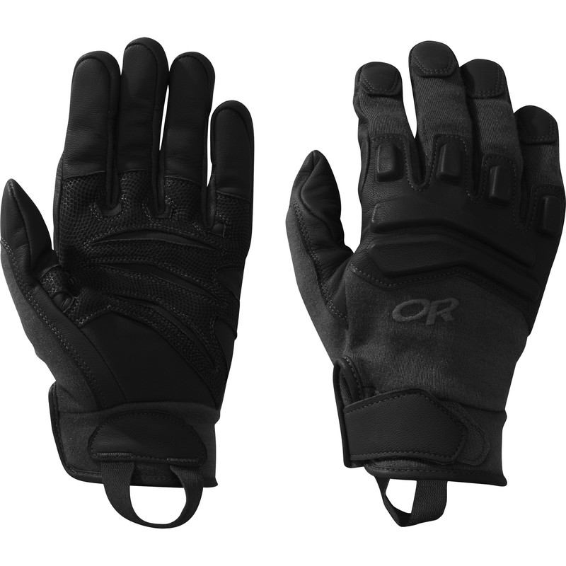 Outdoor Research Firemark Gloves 111-ALL BLACK-30