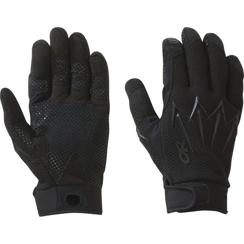 Outdoor Research Halberd Gloves 111-ALL BLACK-30