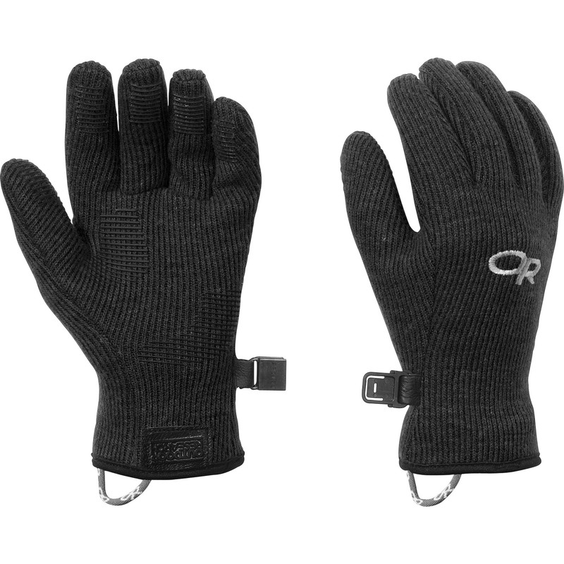 Outdoor Research Kids Flurry Gloves Black-30