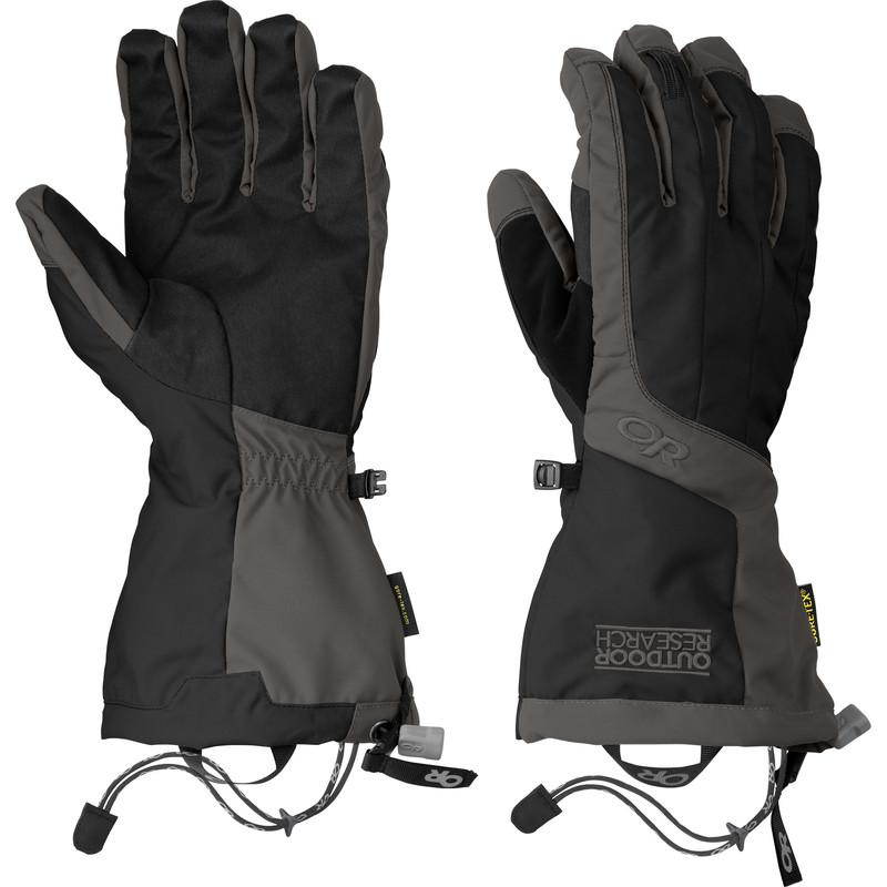 Outdoor Research Men´s Arete Gloves Black/Charcoal-30