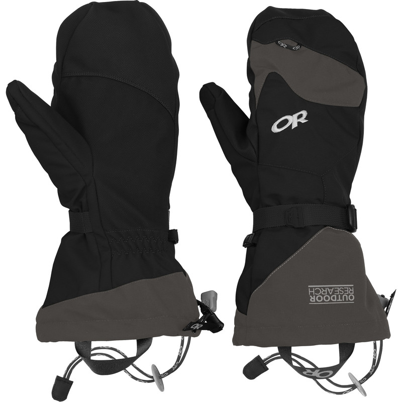 Outdoor Research Meteor Mitts 189-BLACK/CHARCOAL-30