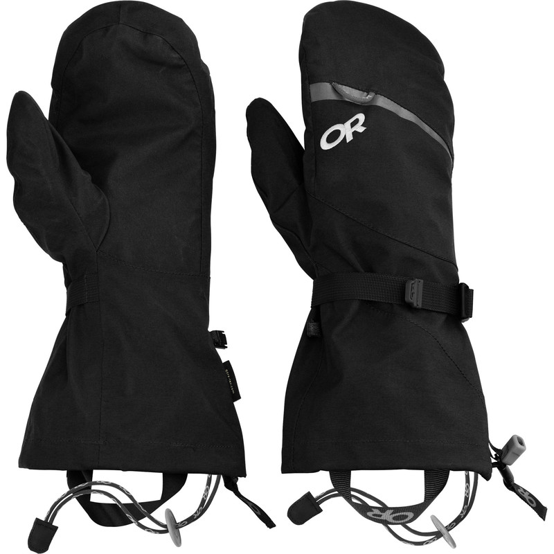 Outdoor Research MT Baker Shell Mitts 001-BLACK-30