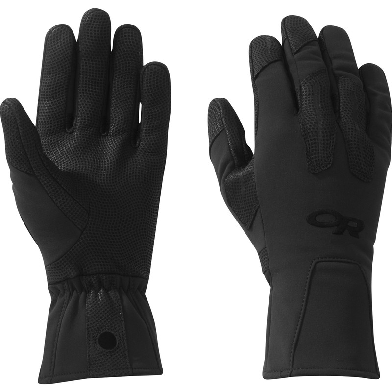 Outdoor Research Paradigm Gloves 111-ALL BLACK-30