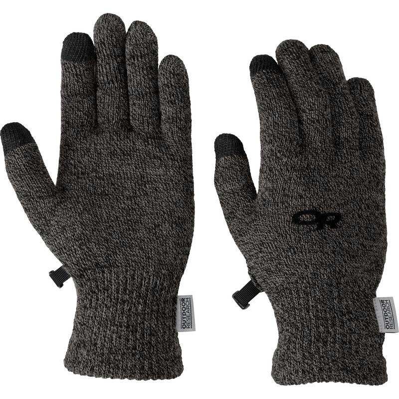 Outdoor Research - Women´s BioSensor Liners 890-CHARCOAL - Gloves - M