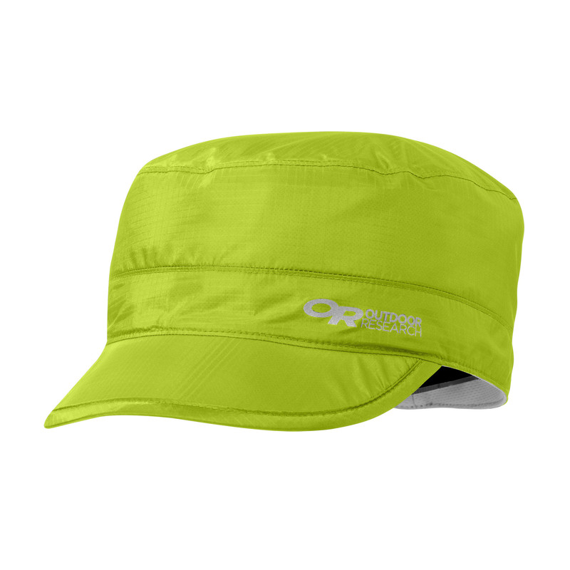 Outdoor Research Helium Radar Rain Cap Lemongrass-30