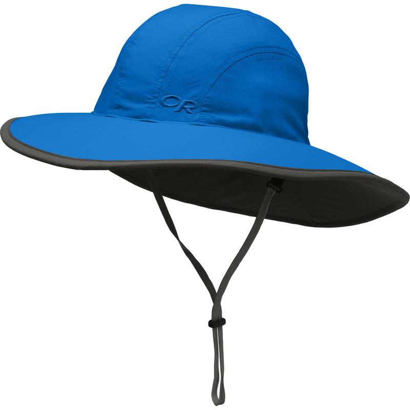 Outdoor Research Kid´s Rambler Sun Sombrero Glacier/Dark Grey-30