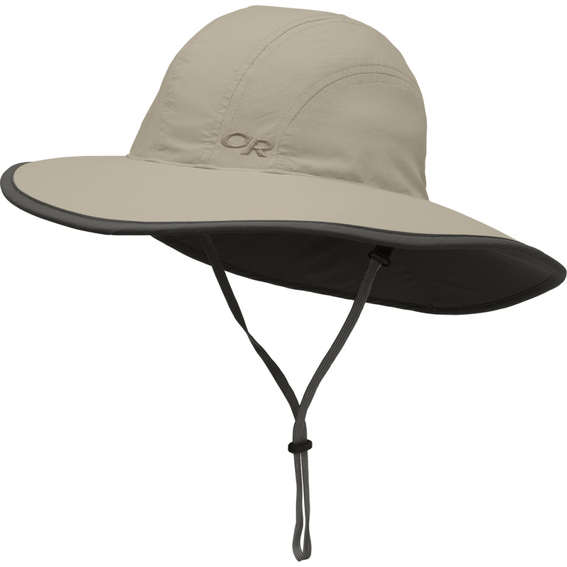 Outdoor Research Kid´s Rambler Sun Sombrero Khaki/Dark Grey-30