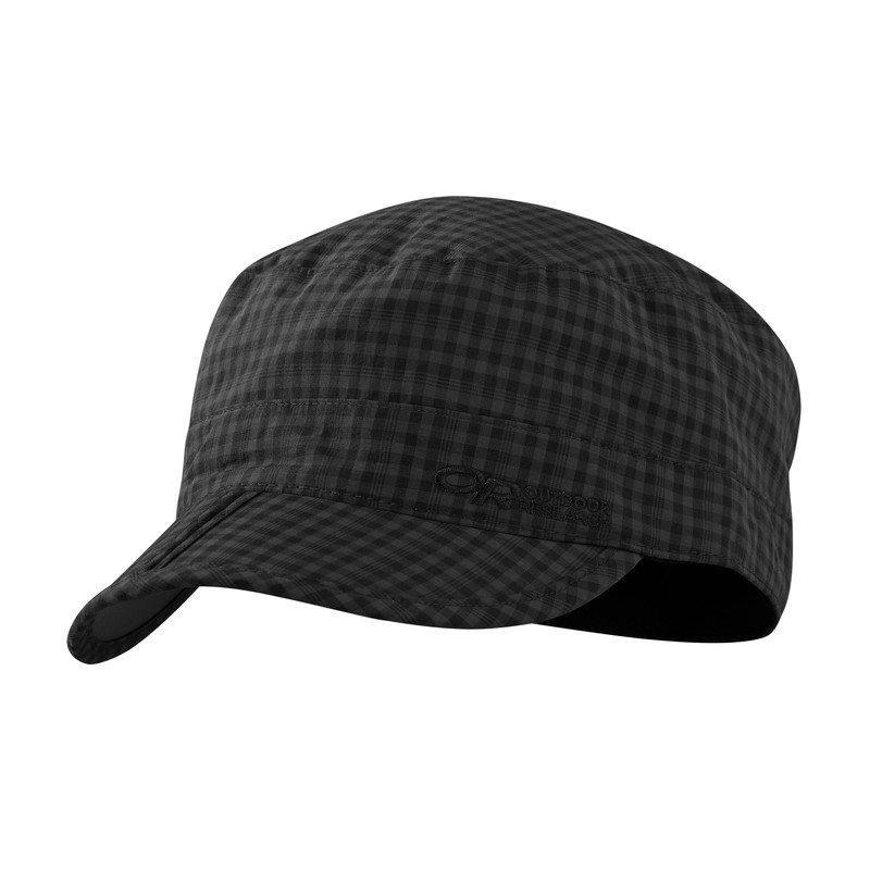 Outdoor Research Radar Pocker Cap Black Check-30