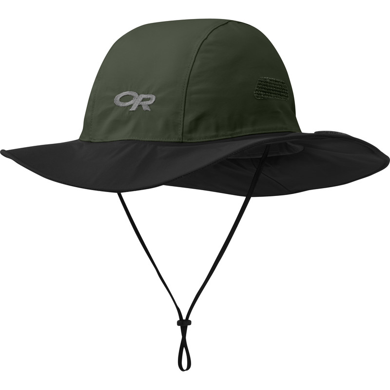 Outdoor Research Seattle Sombrero 603-FOREST/BLACK-30