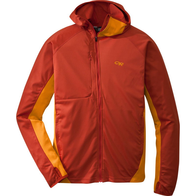 Outdoor Research - Men´s Centrifuge Jacket 131-DIABLO/SUPERNOVA - Fleece Jackets - XL