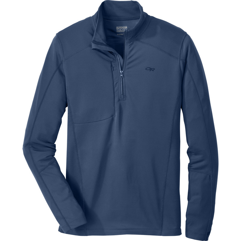 Outdoor Research Men´s Delta L/S Zip Top 30B-DUSK-30