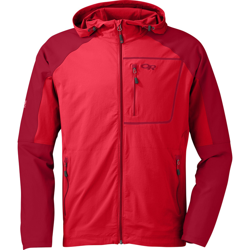 Outdoor Research Men´s Ferrosi Hoody 444-HOT SAUCE/REDWOOD-30