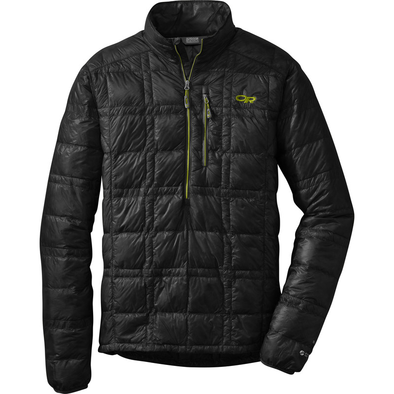 Outdoor Research Men´s Filament Pullover 151-BLACK/LEMONGRASS-30