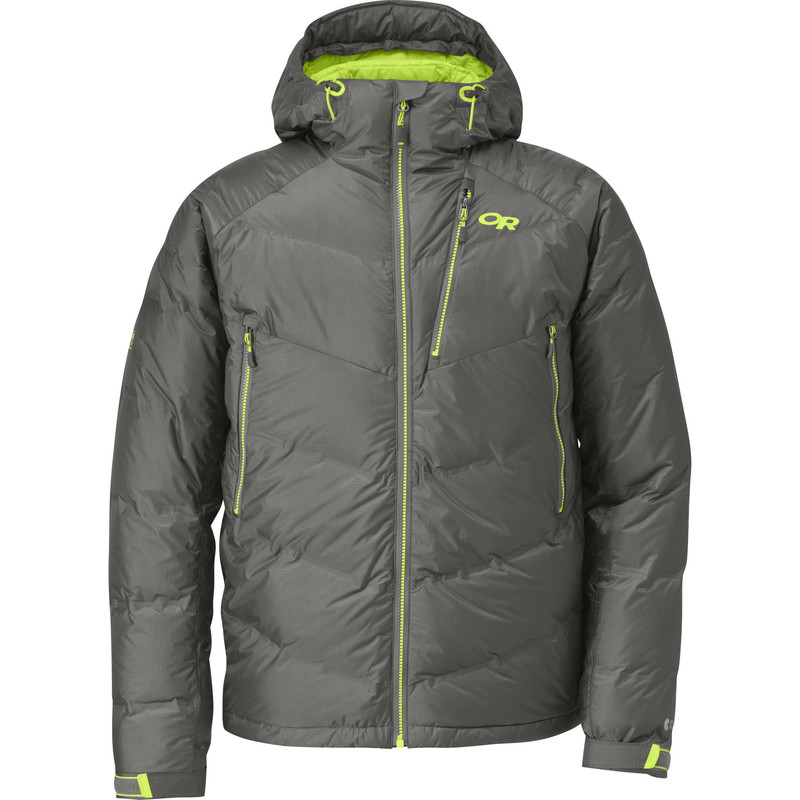 Outdoor Research Men´s Floodlight Jacket Pewter/Lemongrass-30