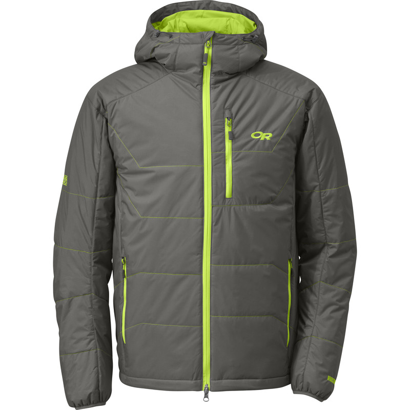 Outdoor Research Men´s Havoc Jacket 054-PEWTER/LEMONGRASS-30