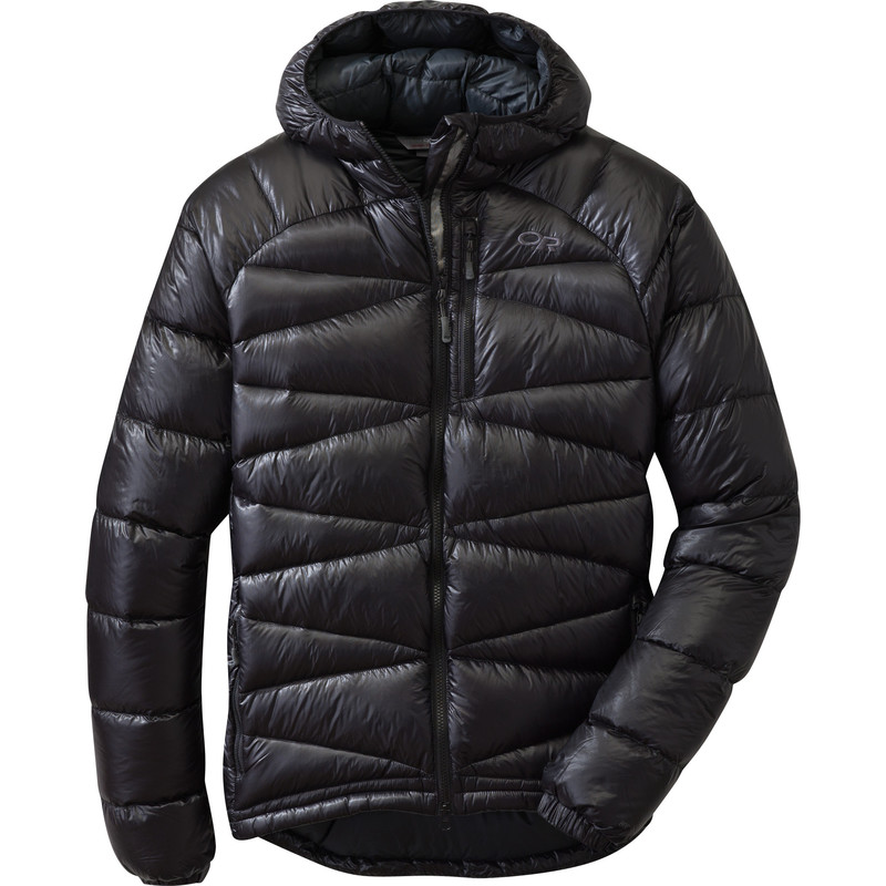 Outdoor Research - Men´s Incandescent hoody 001-BLACK - Down Jackets -