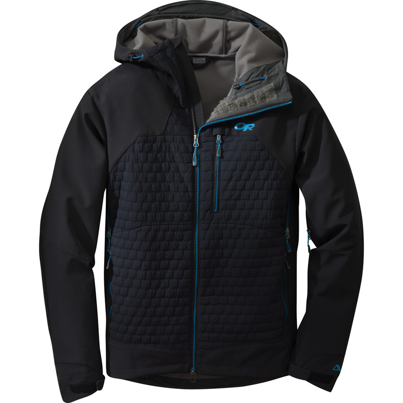 Outdoor Research Men´s Lodestar Jacket Black/Hydro-30