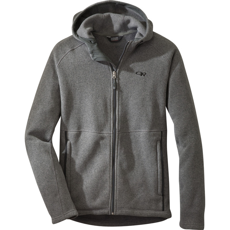 Outdoor Research Men´s Longhouse Hoody 008-PEWTER-30