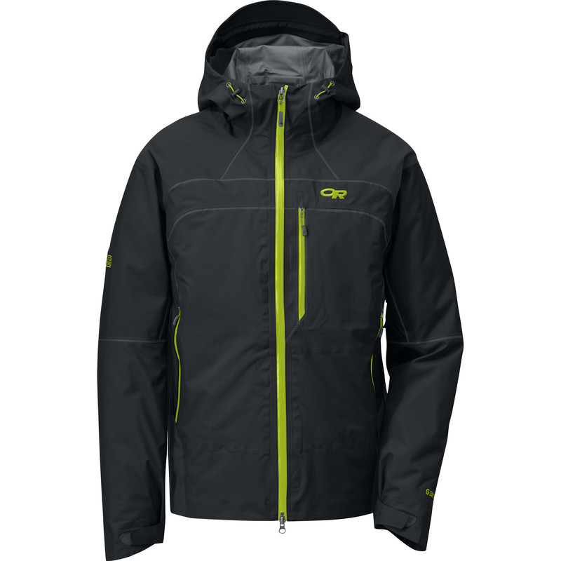Outdoor Research Men´s Mentor Jacket 001-BLACK-30