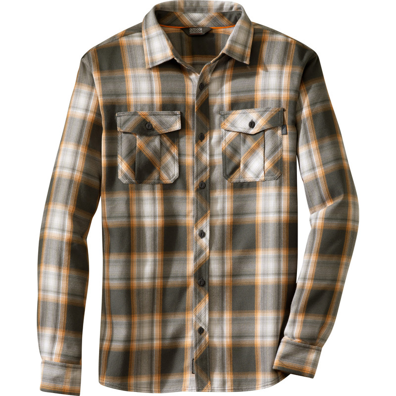 Outdoor Research Men´s Pitch Shirt 18C-CHARCOAL/BENGAL-30