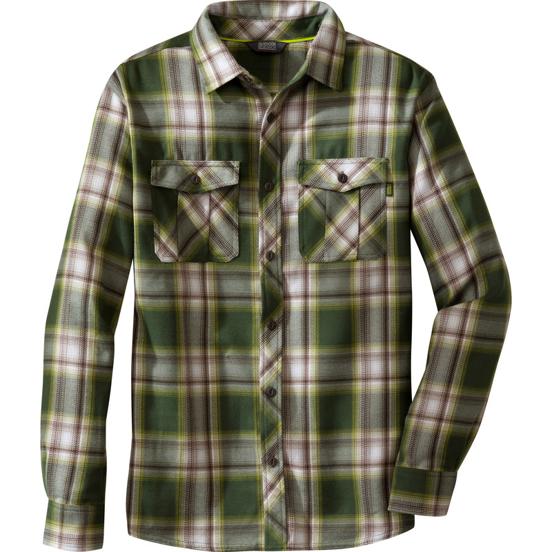 Outdoor Research Men´s Pitch Shirt 135-EVERGREEN/HOPS-30