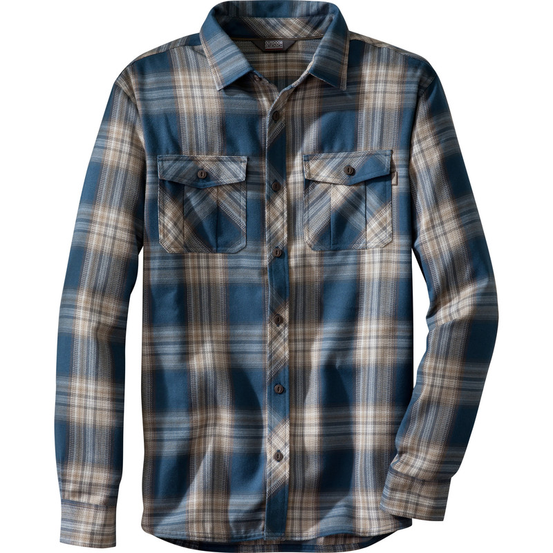 Outdoor Research Men´s Pitch Shirt 19C-INDIGO/MUSHROOM-30