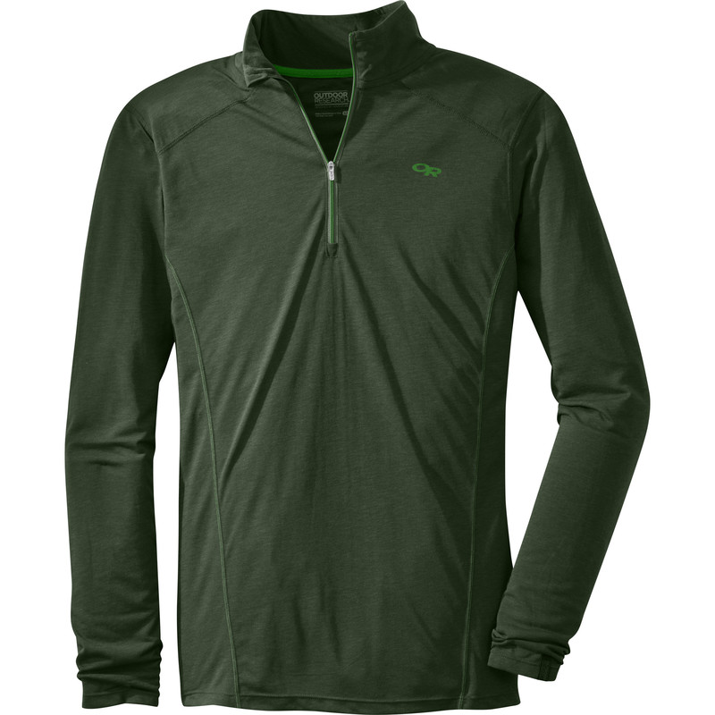Outdoor Research Men´s Sequence L/S Zip Top 646-EVERGREEN-30