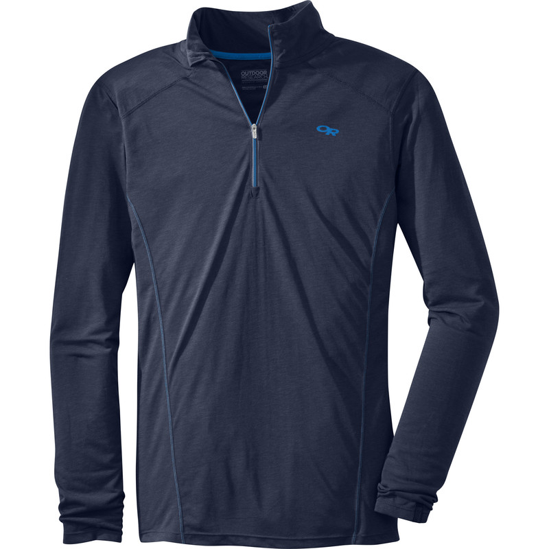 Outdoor Research Men´s Sequence L/S Zip Top 20B-NIGHT-30
