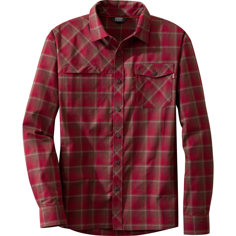 Outdoor Research Men´s Tangent Shirt Redwood/Diablo-30