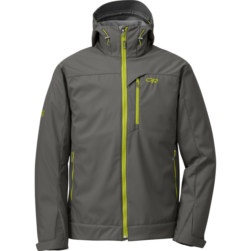 Outdoor Research Men´s Transfer Hoody Pewter/Lemongrass-30