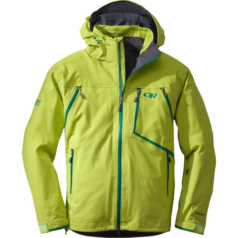 Outdoor Research Men´s Vanguard Jacket 52B-LEMONGRASS/FLASH-30